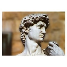 Famous David Statue in Florence Italy Invitations