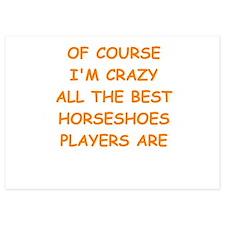 horseshoes Invitations