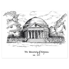 UVA ROTUNDA SHADED Invitations