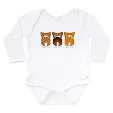 Unique Pembroke Long Sleeve Infant Bodysuit