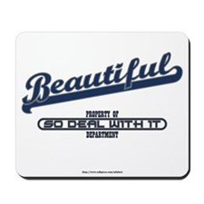 Beautiful P Mousepad