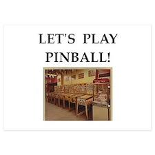 pinball Invitations