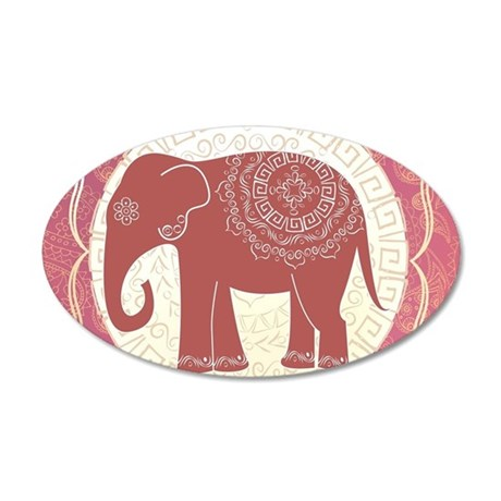 Indian Elephant Wall Decal