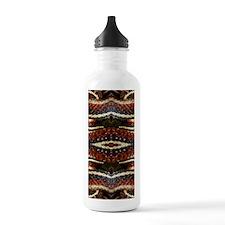 Red Striped Snake Water Bottle