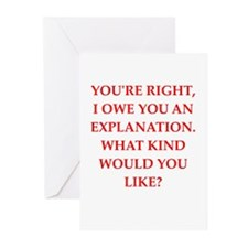 explanation Greeting Cards (Pk of 10)