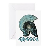 Greek Hoplite Greeting Cards (Pk of 10)