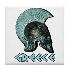 Greek Hoplite Tile Coaster