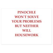 pinochle Invitations