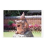 Ryukyu Shisa Postcards (Package of 8)