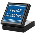 Police Detective Blues Keepsake Box