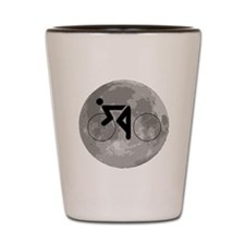 Cycling Moon Shot Glass