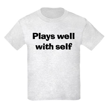 Plays Well With Self Kids Light T-Shirt