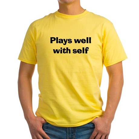 Plays Well With Self Yellow T-Shirt