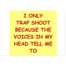 trap shooting Invitations