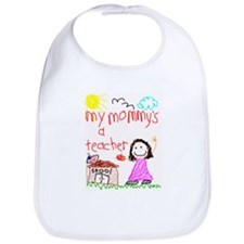 Teacher Mommy! Bib
