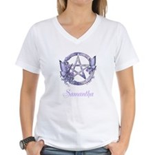 Personalized Pentacle Butterfly T-Shirt