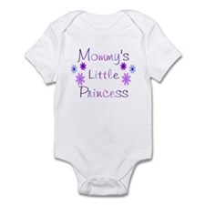 Mommy's little princess purpl Infant Bodysuit