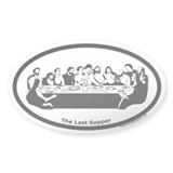 The Last Supper Oval Decal