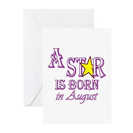 Birth Announcement Greeting Cards (Pk of 10)