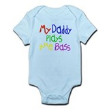 Daddy Plays Bass Onesie