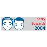 Kerry Edwards Bumper Bumper Sticker