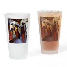 Cute August macke Drinking Glass