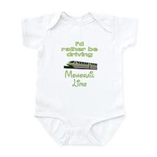 Monorail Lime Infant Bodysuit