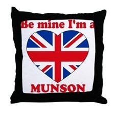 Munson, Valentine's Day Throw Pillow