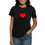 I Love Dante Women's Pastel T-Shirt