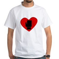 Boxing Glove Heart T-Shirt