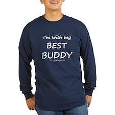 Best Buddy Long Sleeve Dark T-Shirt