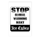 Stop Global Warming Postcards (Package of 8)