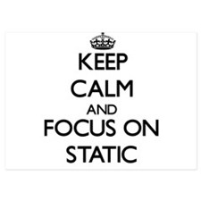 Keep Calm and focus on Static Invitations