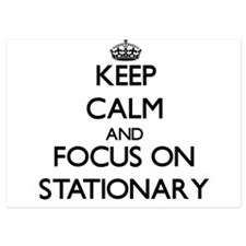 Keep Calm and focus on Stationary Invitations