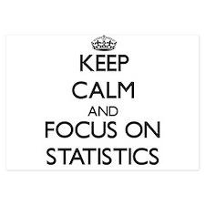 Keep Calm and focus on Statistics Invitations