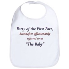 Party of the First Part Bib