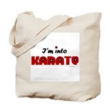 I'm Into Karate (Chick) Tote Bag