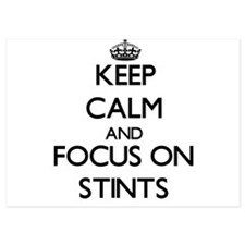 Keep Calm and focus on Stints Invitations