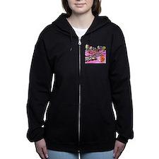 Pink Candyland Women's Zip Hoodie