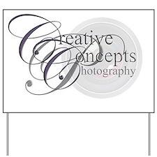 Creative Concepts Photography logo Yard Sign