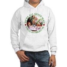 WE'RE ALL MAD - GREEN Jumper Hoody