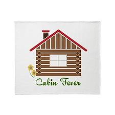 Cabin Fever Throw Blanket