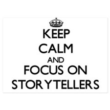 Keep Calm and focus on Storytellers Invitations