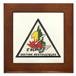 2nd Regiment Legion Framed Tile
