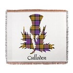 Thistle - Culloden dist. Woven Blanket