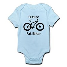 Cute Biking Infant Bodysuit