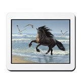 Friesian - Splash Dance Mousepad