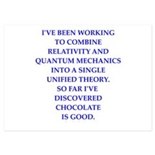 Funny Quantum physics Invitations