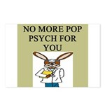 pop psych Postcards (Package of 8)