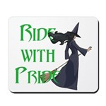 Ride with Pride Mousepad